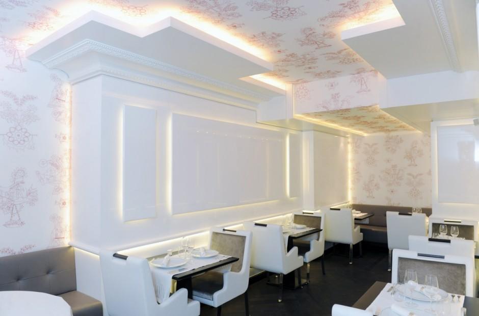 76 - Restaurant l'Instant d'Or Georges V à PARIS