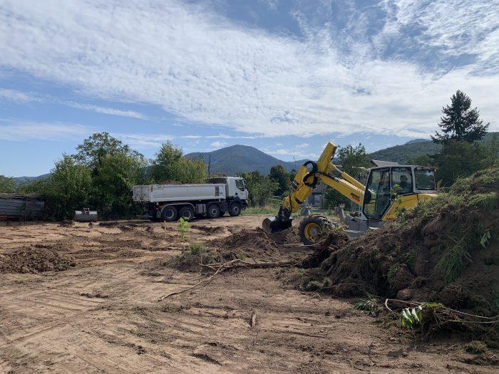 chantier agrandissement des locaux wereystenger